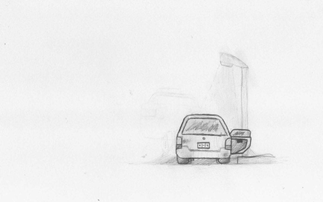 いくつかの古いスケッチ...Some Old Sketches…